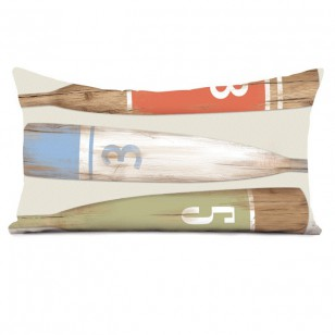 Coussin Rames Chiffres 40 x 68