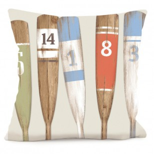 Coussin Rames Chiffres 40 x 40