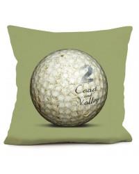 Coussin Golf Ball 2 Vert 40 x 40
