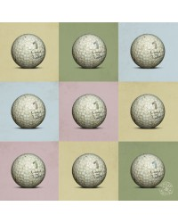 Tableau PopGolf 40 x 40