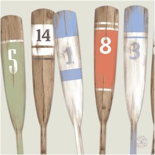 Tableau Rames Chiffres 40 x 40