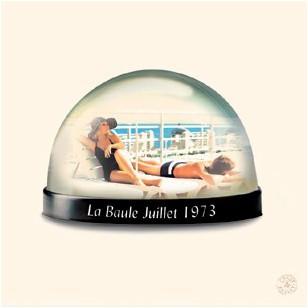 Tableau Boule Couple 40 x 40