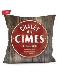 Coussin Chalet Cimes 40 x 40