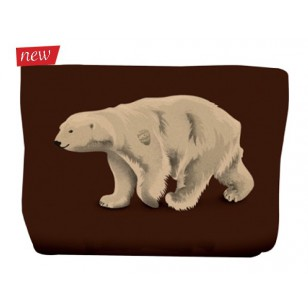 Trousse Ours Brun 17x24