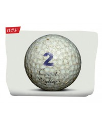 Trousse Golf Ball Blanc 17x24