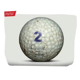 Trousse Golf Ball Blanc 17x24