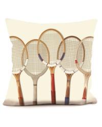 Coussin Tennis Vintage 40 x 40