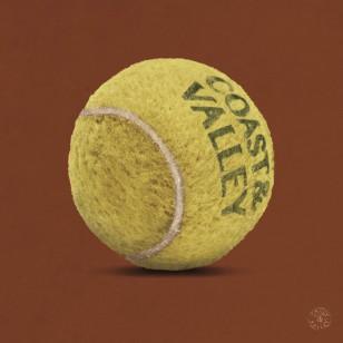 Tableau Balle Tennis 100 x 100
