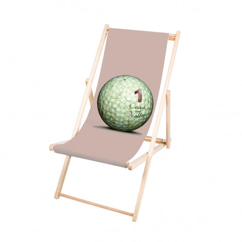 Transat chilienne chaises longues d coration bord de mer for Transat jardin rose
