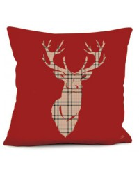Coussin Cerf Anglais 2 40 x 40