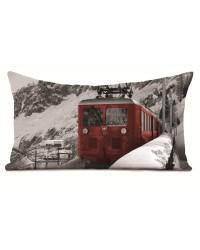 Coussin Train Suisse 40 x 68