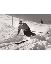 Tableau Ski Man 60x90