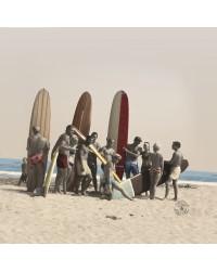 Tableau Surf Friends 40 x 40