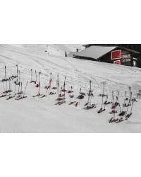 Tableau Skis aux Pieds 120X80