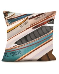 Coussin Barques 40 x 40