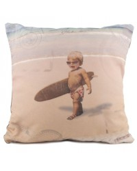 Coussin Back to surf school 40 x 40