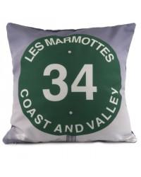 Coussin Les Marmottes 40 x 40
