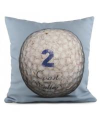 Coussin Golf Ball 2 Bleu 40 x 40