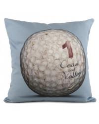 Coussin Golf Ball 1 Bleu 40 x 40