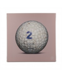Tableau Golf Ball Rose 2 40 x 40