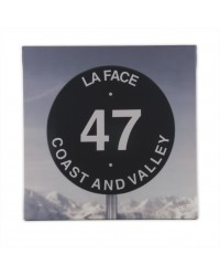 Tableau La Face 40 x 40