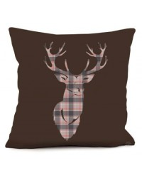 Coussin Cerf Montagne 40 x 40