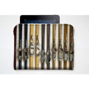 Pochette Tablette Skis Vintage
