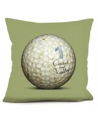 Coussin Golf Ball 1 Vert 40 x 40