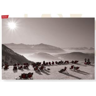 Tableau Ski Transat 120X80