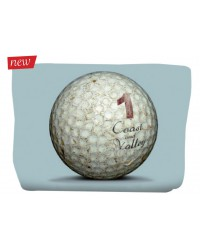 Trousse Golf Ball Bleu 17x24