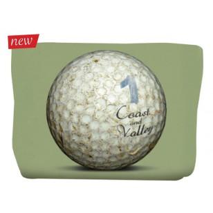 Trousse Golf Ball Vert 17x24