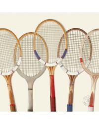 Tableau Tennis Vintage 40 x 40