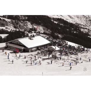 Tableau Ski Party 80x120