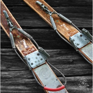 Tableau Skis Vintage 40 x 40