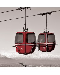 Tableau Ski Room 40x40