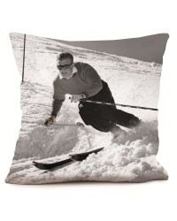 Coussin Ski Man 40 x 40