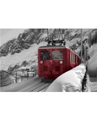 Tableau Train Suisse 60x90