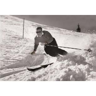 Tableau Ski Man 120X80