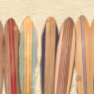 Tableau Surf Boards 40 x 40