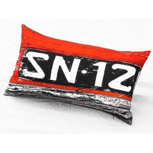 Coussin Immatriculation 1 40x68