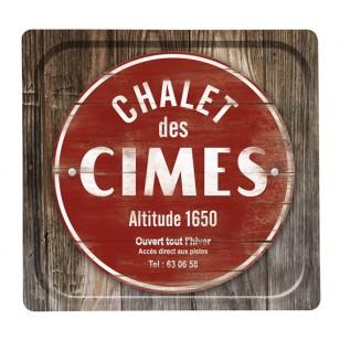 Plateau Chalet des Cimes 33*33