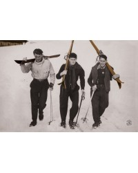 Tableau Gentlemen Skieurs 60x90
