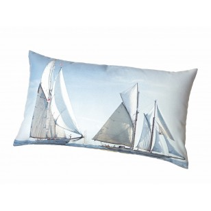 Coussin Classic Yacht Collection Plisson 40x68