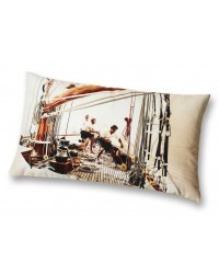 Coussin Manoeuvres Collection Plisson 40x68