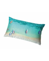 Coussin Madagascar Collection Plisson 40x68