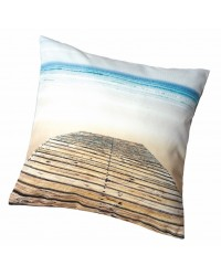 Coussin Ponton Collection Plisson 40 x 40