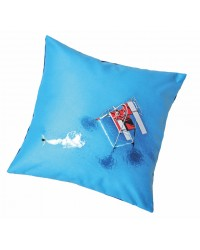 Coussin Le Plongeoir Collection Plisson 40 x 40