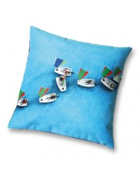 Coussin Optimists Collection Plisson 40 x 40