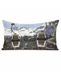 Coussin Christian Arnal Cabines Blanches 40 x 68