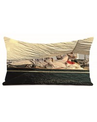 Coussin Grément Collection Georges Felix Cohen 40 x 68